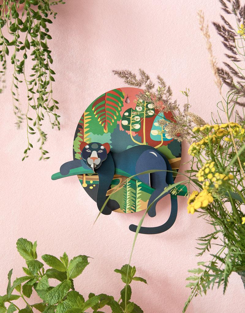 DIY WANDDECORATIE - Jungle Puma