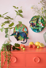DIY DECORATION MURAL - Jungle Puma