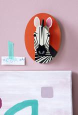 Wanddecoratie - zebra
