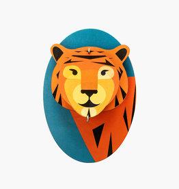 Wanddecoratie - tijger