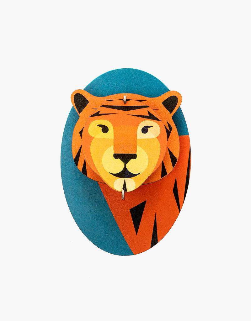 DIY DECORATION MURAL - Tigre