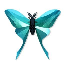 DIY DECORATIE - Chinese Maanvlinder (groen)