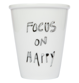 PORCELAIN MUG - Focus on Happy