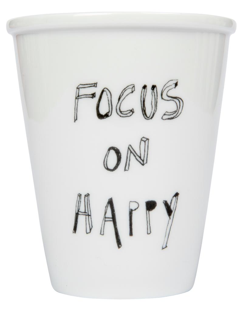 PORCELAIN MUG - Focus on Happy