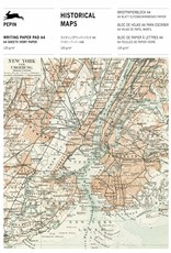 WRITING PAPER PAD - A4 - Historical Maps