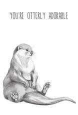 Animaux Spéciaux POSTKAART - You're Otterly Adorable