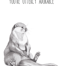 Animaux Spéciaux CARTE POSTAL - You're Otterly Adorable