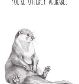 Animaux Spéciaux POSTCARD - You're Otterly Adorable
