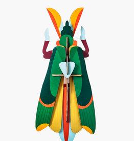 DIY WALL DECORATION - Giant Grasshopper