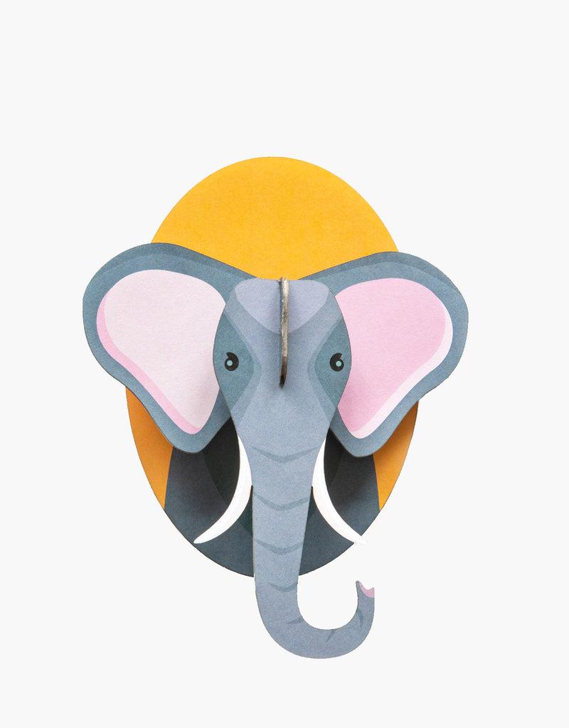 DIY DECORATION MURAL - Petits Amis - Éléphant