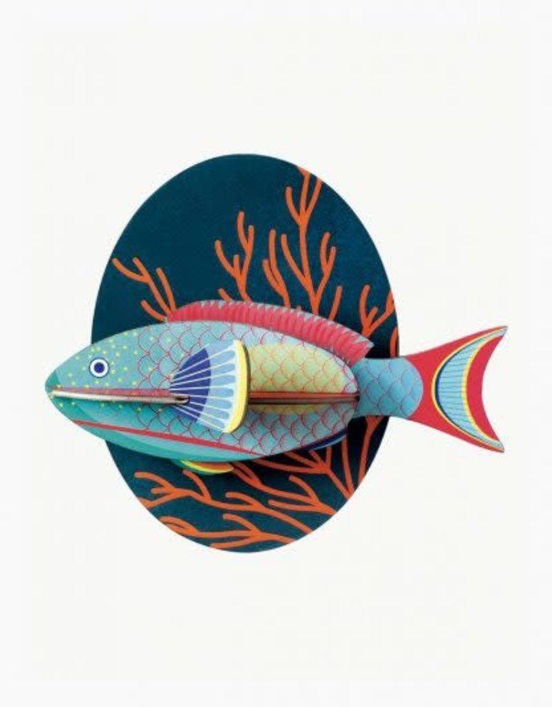 DIY WALL DECORATION - Parrotfish
