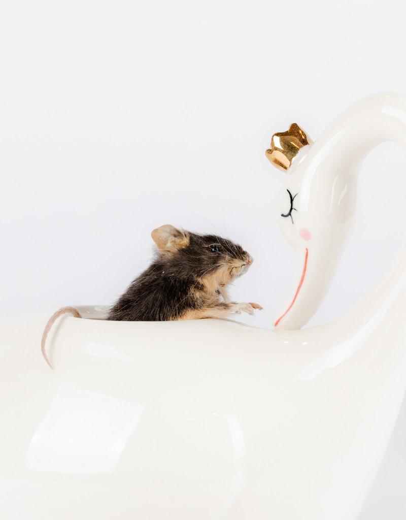 Animaux Spéciaux Wonderland: muis in theepot