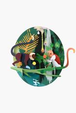 DIY DECORATION MURAL - Jungle Monkeys