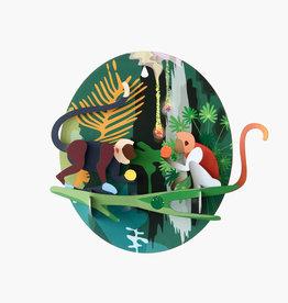 DIY WALL DECORATION - Jungle Monkeys
