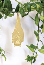 GOUDEN PLANTENHANGER - fruit vleermuis