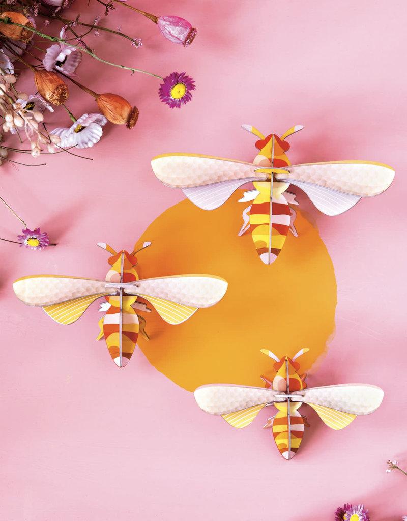 DIY WALL DECORATION - Set Of 3 Honey Bees