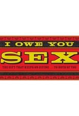 I OWE YOU SEX