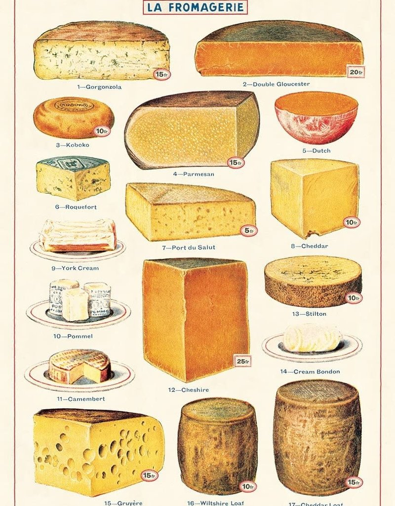 """VINTAGE POSTER - Cheese (20"""" X 28)"""