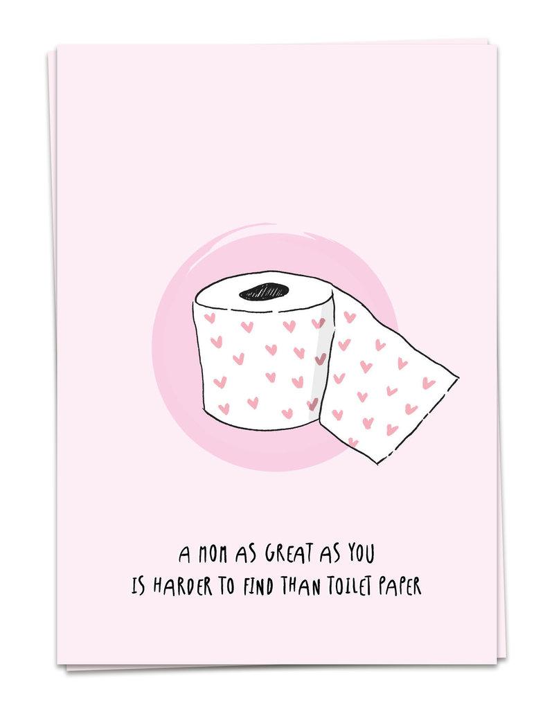 KAART BLANCHE - Toiletpaper Mom