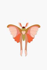 ENAMEL PIN - Papillon Comète