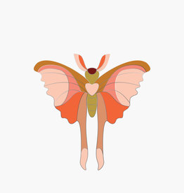 ENAMEL PIN - Comet Butterfly