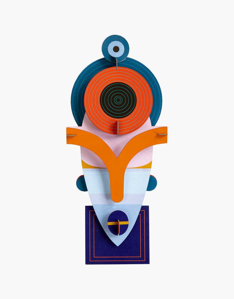 MASKER - Lamu 16 x 6 x 37 cm