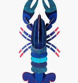 DIY WANDDECORATIE - Blue Lobster