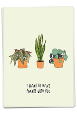 KAART BLANCHE - I Want To Have Plants With You