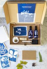 COFFRET CYANOTYPE– notre kit complet pour réaliser de superbes impressions