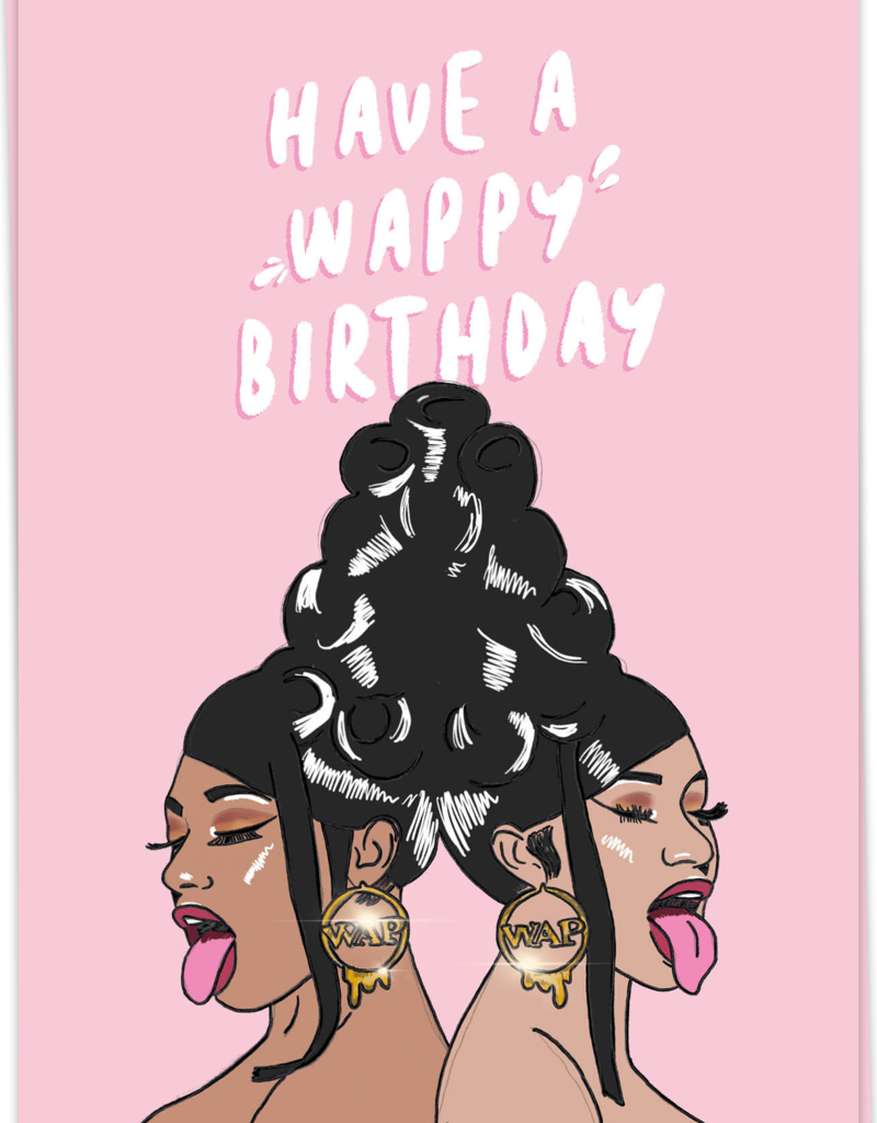 KAART BLANCHE - Wappy Birthday