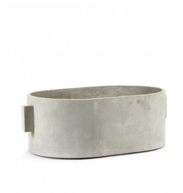 SERAX - Pot Oval Gray Concrete