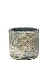 SERAX - Pot Fossiel Zwart