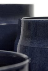 SERAX - Decorative Pot Pyramid Blue