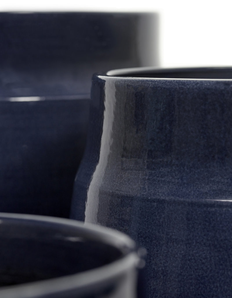 SERAX - Cache-pot Pyramide Bleu