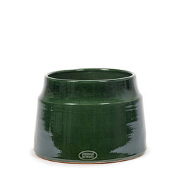 SERAX - Decorative Pot Pyramid Green