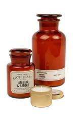 APOTHECARY - Bougie en verre - Amber & Smoke