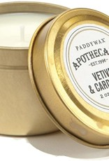 APOTHECARY - Glass Candle - Vetiver & Cardemom