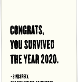 KAART BLANCHE - Survived 2020