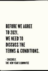 KAART BLANCHE - 2021 Terms