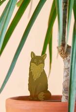 GOLDEN PLANT HANGER - Fox