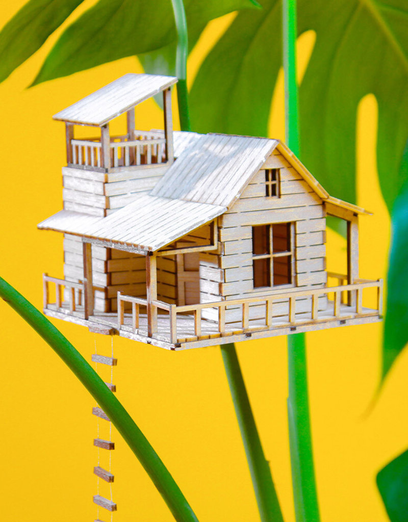 Plant-house MINIATUUR BOOMHUIS: Plantenhuis