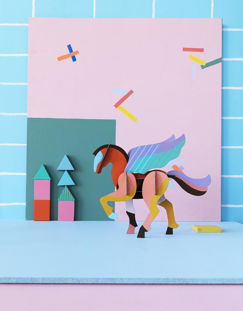 DIY WANDDECORATIE - Reuze Pegasus