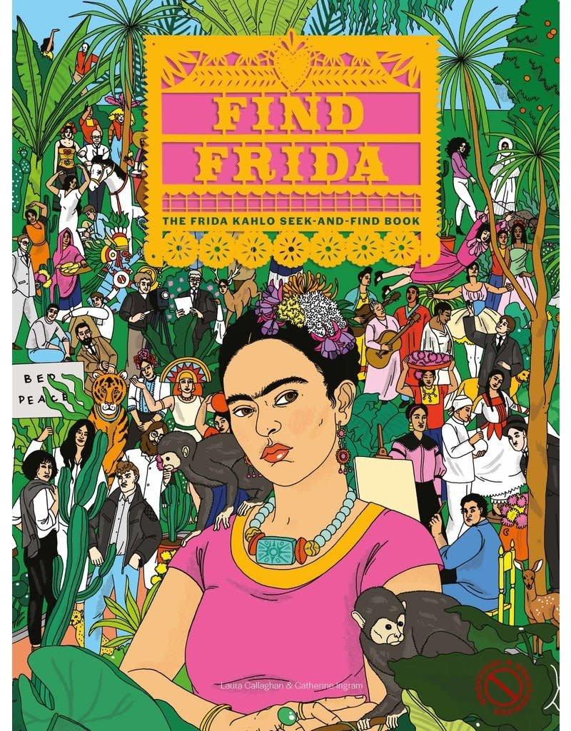 Laurence King FIND FRIDA - seek-and-find