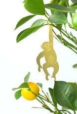 GOUDEN PLANTENHANGER - Chimpansee