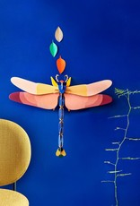 DIY WALL DECORATION - Giant dragonfly DELUXE