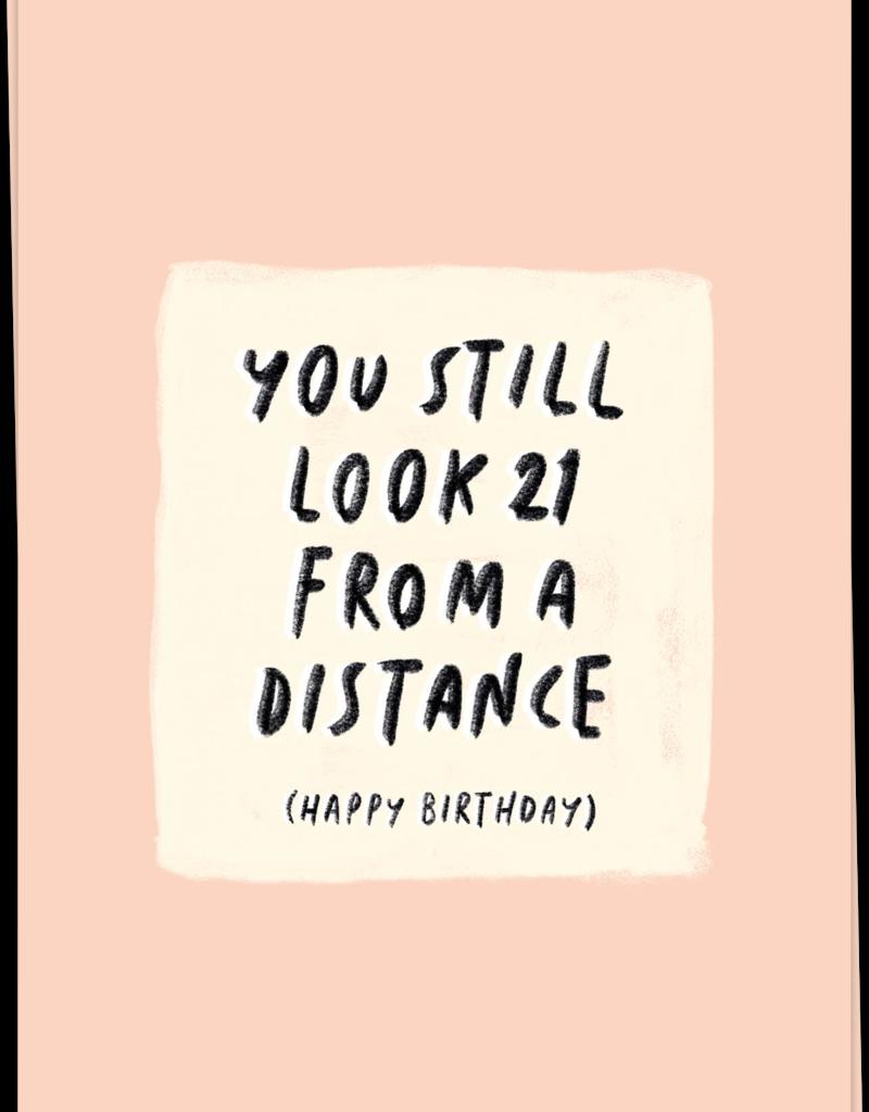 KAART BLANCHE - 21 distance