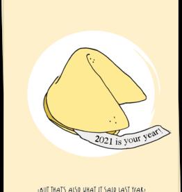 KAART BLANCHE - 2021 fortune cookie