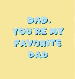 KAART BLANCHE - fave dad