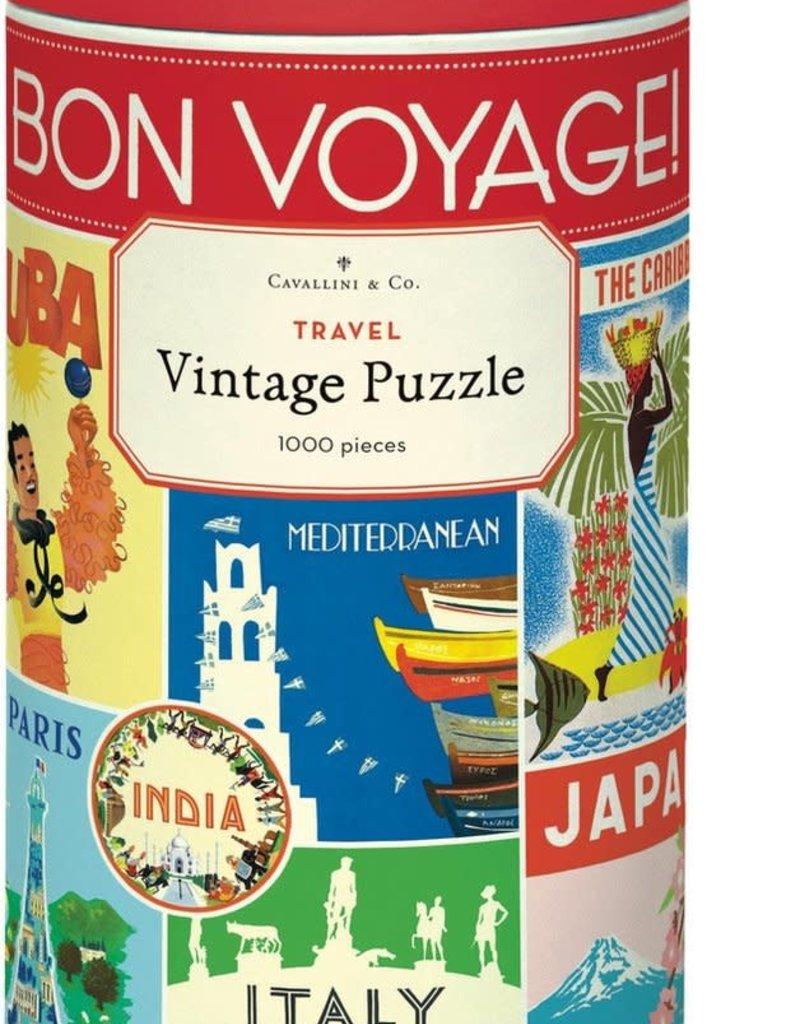 PUZZEL - Vintage reizen