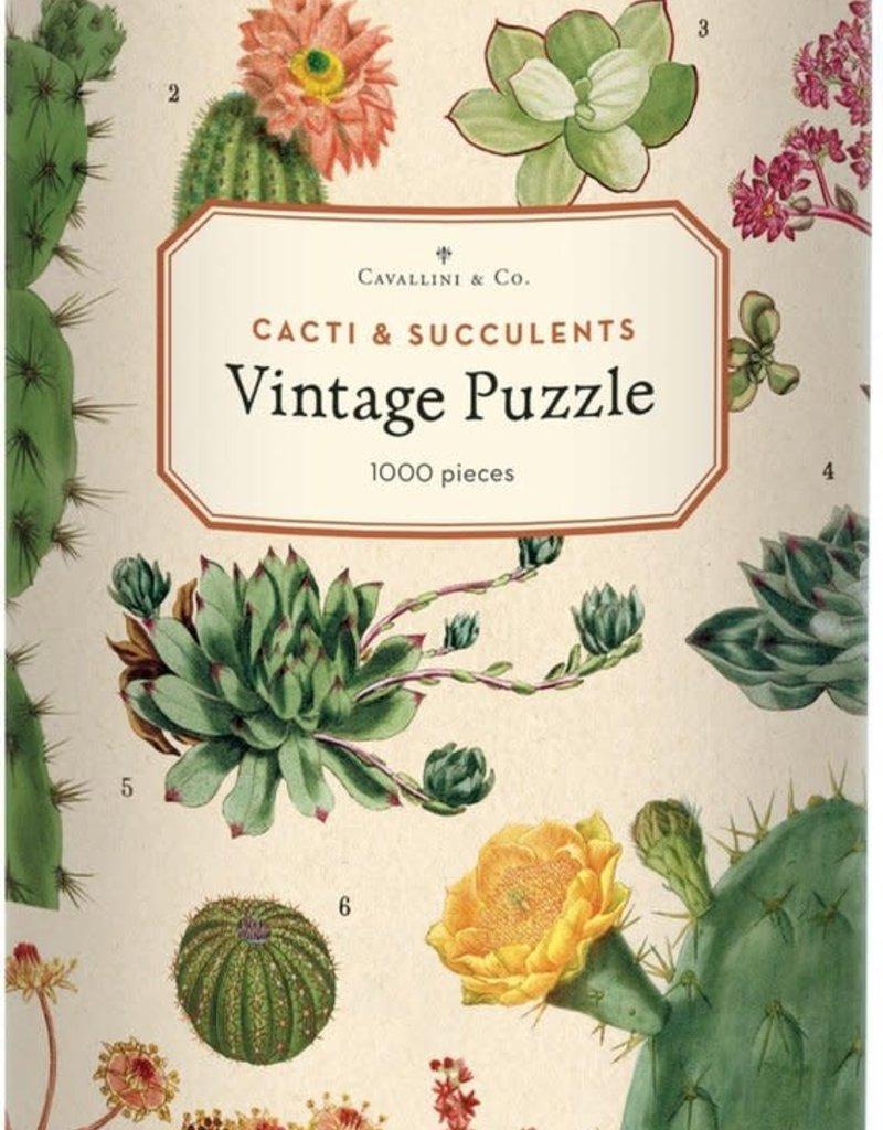 PUZZEL - Cactussen en vetplanten